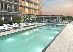 citylights condos terrace pool